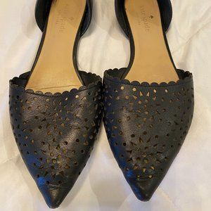 Used Condition Kate Spade Size 7.5 Black Flats